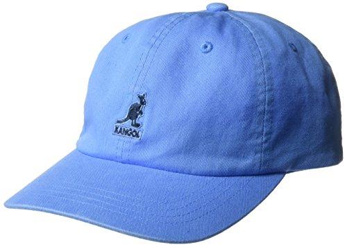 Kangol Unisex Washed Baseball Cap, Blau (Sky SK424), One Size