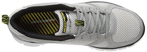 Skechers Uomo Flex Advantage- First Team scarpe sportive Viola (PRAQ)
