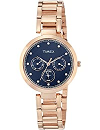 Timex Analog Blue Dial Women's Watch-TW000X215