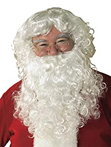 Rubies Costume Co Santa Beard And Wig Christmas Costume Accessory (peluca)