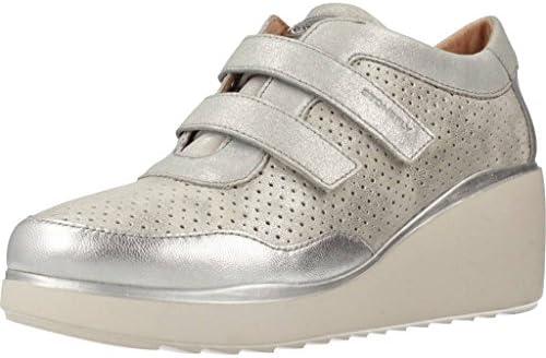 Zapatos para Mujer, Color Plateado, Marca STONEFLY, Modelo Zapatos para Mujer STONEFLY Eclipse 9 Plateado