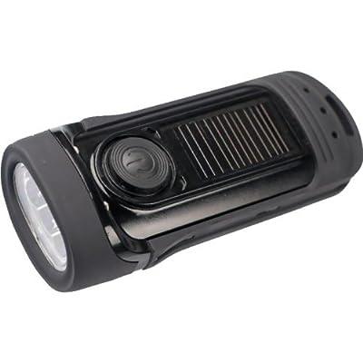 Barracuda Powerplus Dynamo Wasserdichte Solar Led Taschenlampe von PowerPlus