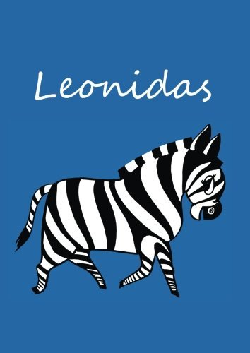 leonidas-individualisiertes-malbuch-notizbuch-tagebuch-zebra-a4-blanko