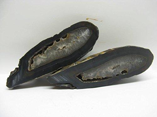 Natural mente-agata, agata paia, 1,15kg, circa 6x 18cm, minerali, cristallo, Heil pietra, agata fine, n. 2162