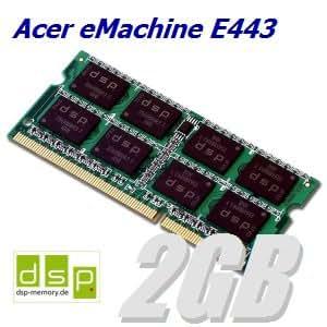 2Go de mémoire/rAM pour pC acer eMachine e443