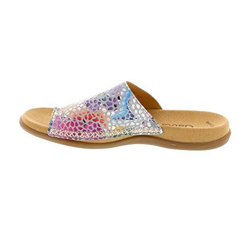 Femme Muli Gabor Jollys Gris Shoes pietra t4IIHAwq