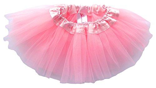 Dancina Baby Tüllrock Tutu Ballettrock Classic Hell-Rosa One Size