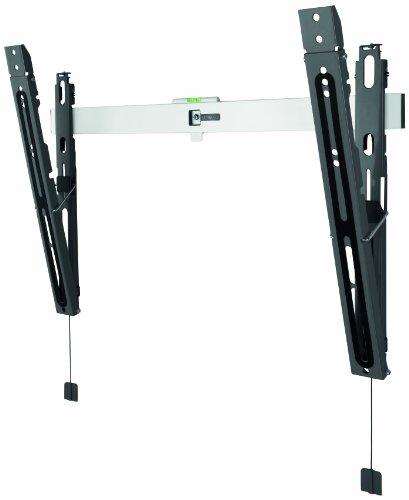 TV-Wandhalterung von One For All NEIGBAR (15°)- TV-Bildschirmgröße 40-84 Zoll - Für alle TV-Gerätetypen – Max. Gewicht 50kg -Schwarz Weiß - SV6620