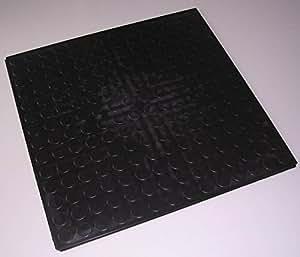 4 st 1qm nopflex werkstattboden pvc industrieboden bodenplatten schwarz baumarkt. Black Bedroom Furniture Sets. Home Design Ideas