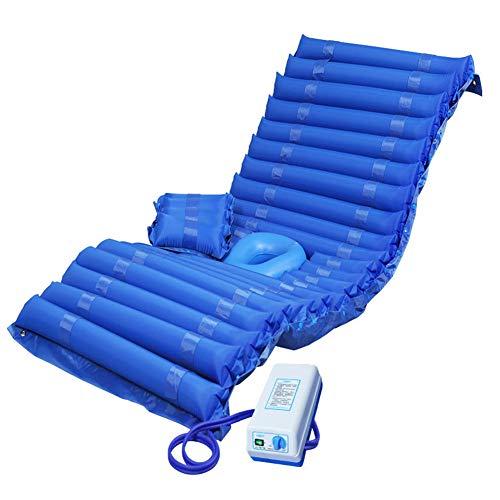 ZCPDP Anti-Dekubitus-Luftmatratze Atmungsaktives Stützbein Abnehmbarer Airbag ad Toilettensitzkissen Bett Patient Krankenhaus-Luftmatratze - Abwechselnd Druck-luft-matratze