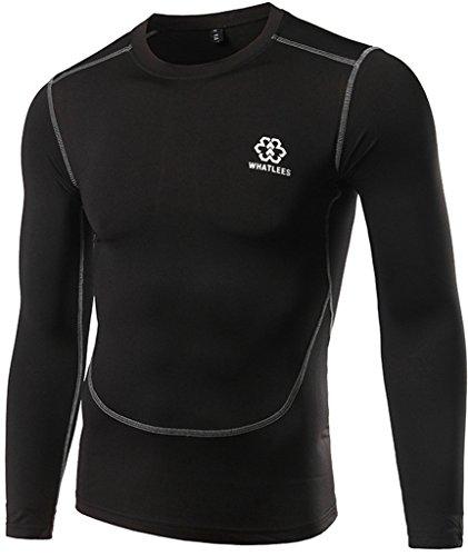 whatlees-herren-basic-sports-surf-reiten-tauchen-jogging-sonnenschutz-leicht-luftung-t-shirts-muskel