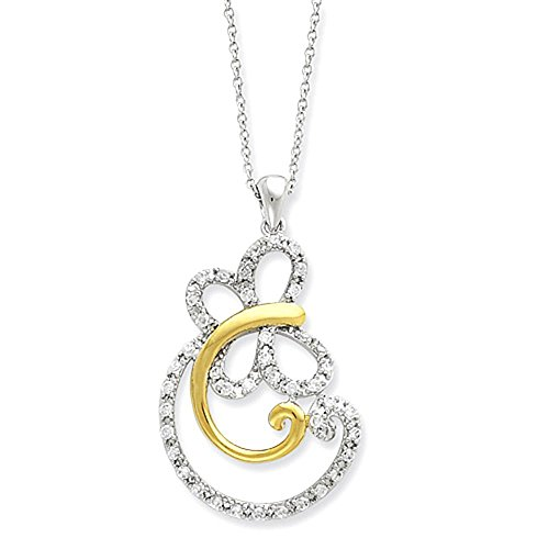 sterling-silver-plaque-or-cz-carefree-collier-18po