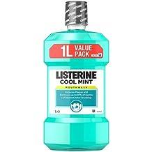 Listerine Collutorio, Mentol Enjuague Bucal, 1000 ml