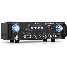 Skytronic 103.208 AV-100 amplificatore Hi-Fi USB SD