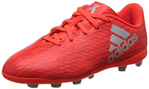 detailed look dbaf2 09ce2 adidas X 16.4 Fxg J, Boys Football Boots, Red (Solar Red