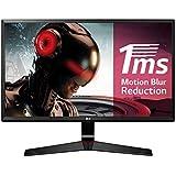 "LG 27MP59G-P - Monitor Gaming FHD de 68,6 cm (27"") con Panel IPS (1920 x 1080 píxeles, 16:9, 1 ms con MBR, 75Hz, 250 cd/m², 1000:1, sRGB >99%) Color Negro"