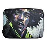 David Garibaldi - Hues of Hendrix, Zippered Neoprene 10 Netbook/Tablet Sleeve