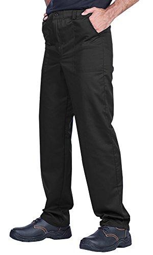 ProWear Herren Arbeitshose, Bundhose, Größen S-XXXL,Arbeitskleidung (S, schwarz)
