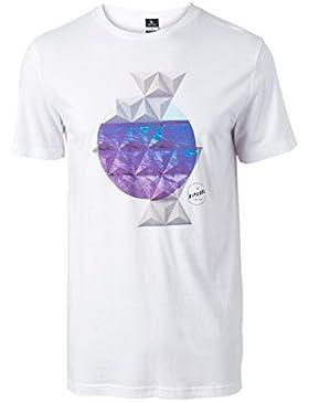Rip Curl Impossible Tee Camiseta, blanco óptico, M