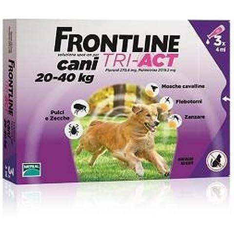 FRONTLINE TRI-ACT*3PIP 4ML PER CANI DA 20-40