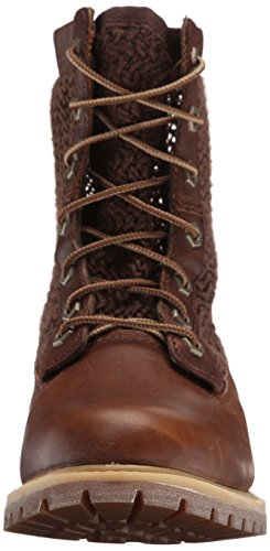 Timberland Womens Open Weave 6 Boot Medium Brown/Brown Weave