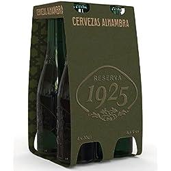 Alhambra Reserva 1925 Cerveza - Pack de 4 x 33 cl - Total: 1320 ml