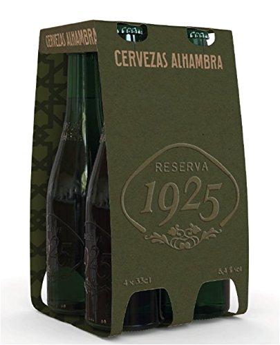 Foto de Alhambra Reserva 1925 Cerveza - Pack de 4 x 33 cl - Total: 1320 ml