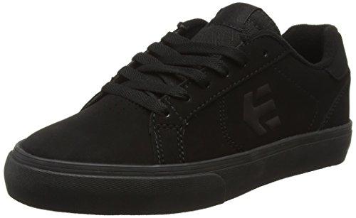 Etnies FADER LS VULC, Sneaker alta uomo, Nero (Black (Black/Black/Black)), 41