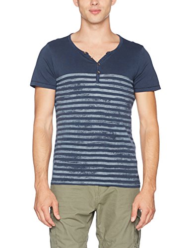s.Oliver Herren T-Shirt Blau (58G1)