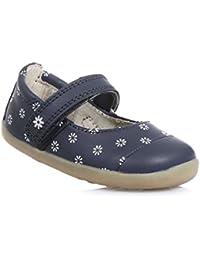 Bobux 460677 - Chaussures Bébé Ramper Cuir - Unisexe, Gris, Taille M