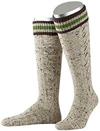 ALMBOCK Trachtensocken Herren   Trachtenstrümpfe aus Merino Wolle in vielen Modellen und Farben   Lange und kurze bayerische Oktoberfest Socken für Lederhose