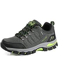 WOWEI Scarpe da Escursionismo Arrampicata Sportive All aperto Impermeabili  Traspiranti Trekking Sneakers da Donna Uomo dadec8e2338
