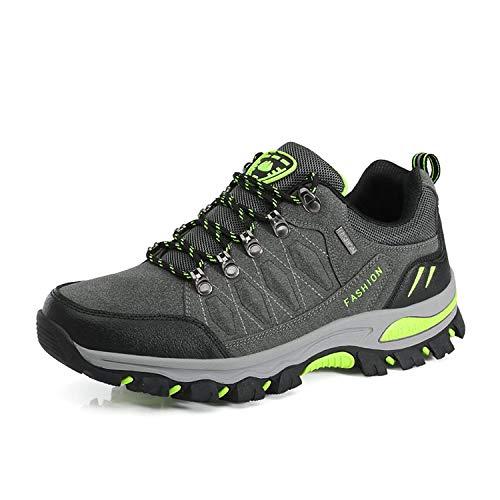 WOWEI Scarpe da Escursionismo Arrampicata Sportive Allaperto Impermeabili Traspiranti Trekking Sneakers da Donna Uomo