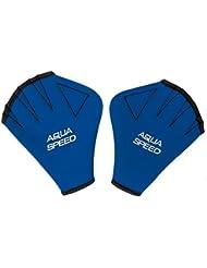 AQUA-SPEED® GANTS D'EAU | Aqua Fitness | Formation de natation | Palmés | Néoprène | Chlorine Resistant | S-XL