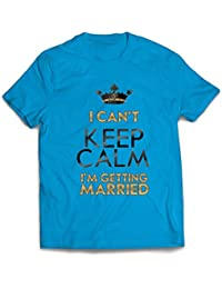 lepni.me Camisetas Hombre Me Estoy casando - Ideas de Regalos para Fiestas - Temas