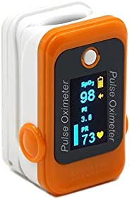 DR VAKU® Louis Series Oximeter Fingertip, Oxygen Saturation Monitor with Plethysmograph and Perfusion Index, H