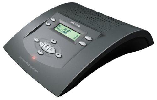 Tiptel 308 clip anthrazit nova Komfort-Anrufbeantworter mit Rufnummernanzeige - Anrufbeantworter