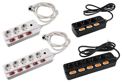 Caja de conexiones regleta de salida Tabla 3 vías con interruptor de...