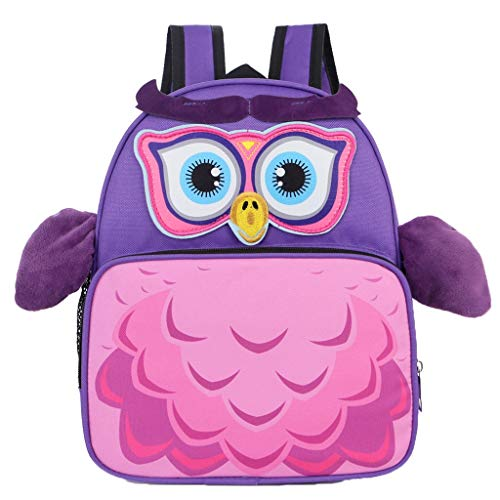 POLPqeD Asilo Bimba Animali Cartoon Ni Nido Peluche Bambini nimato Carino per Bambina Bambino Cute Backpack