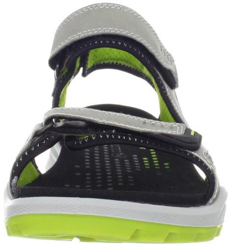 Ecco ECCO BIOM TERRAIN SANDAL 825044 G Herren Sport- & Outdoor Sandalen Grau (Wild Dove/Lime Punch 57920)