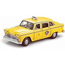 Sunstar 1:18 Scale New York 1981 Checker Taxi Cab Diecast Vehicle
