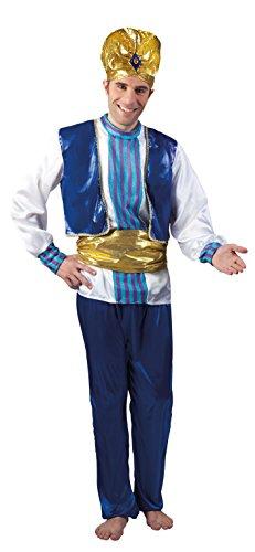Boland 83600 Karnevalskostüm, blau, 50/52