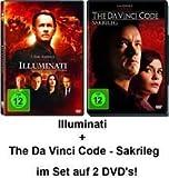 Dan Brown Set - Illuminati & The Da Vinci Code - Sakrileg im Set - Deutsche Originalware [2 DVDs] -