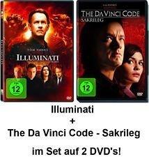 Dan Brown Set - Illuminati & The Da Vinci Code - Sakrileg im Set - Deutsche Originalware [2 DVDs]
