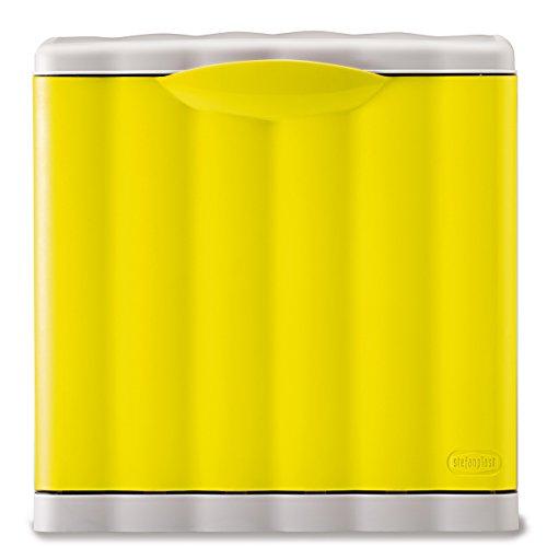Mülleimer Amica mit 20 Liter Kippfunktion Modulsystem Gelb • Papierkorb Abfalleimer Abfallbehälter Mülltrennung Abfallsammler 20L