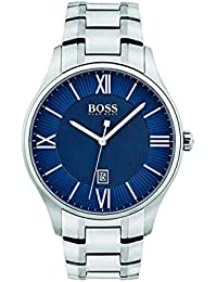 Hugo Boss Homme Analogique Classique Quartz Montres bracelet avec bracelet en Acier Inoxydable - 1513487