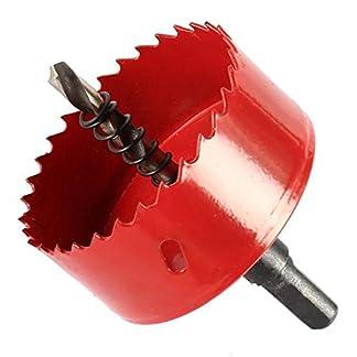 TOOLSTAR sierra perforadora bimetal, M42 HSS sierra perforadora 15-200 mm bi-metal perforadora broca perforadora herramienta de corte para madera aluminio hoja de hierro tubo plástico
