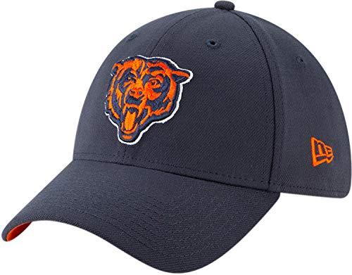 New Era Chicago Bears 39thirty Stretch Cap Nfl19 Draft Navy - S-M