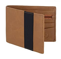 MarkQues Gatsby Tan Leather Mens Wallet (GT-4404)