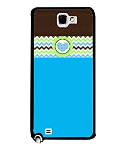 PrintVisa Designer Back Case Cover for Samsung Galaxy Note 2 :: Samsung Galaxy Note Ii N7100 (Love Lovely Attitude Men Man Manly)